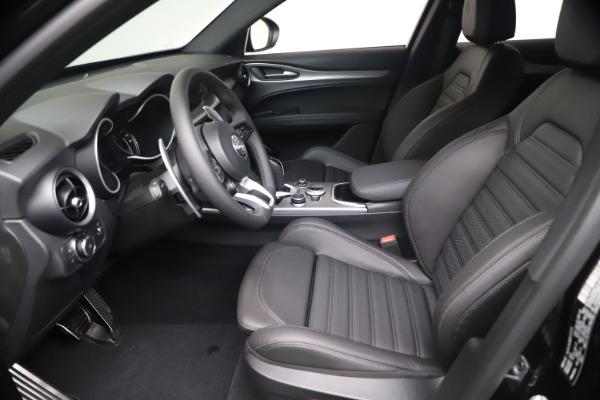 New 2021 Alfa Romeo Stelvio Ti Sport Q4 for sale $56,900 at Rolls-Royce Motor Cars Greenwich in Greenwich CT 06830 14
