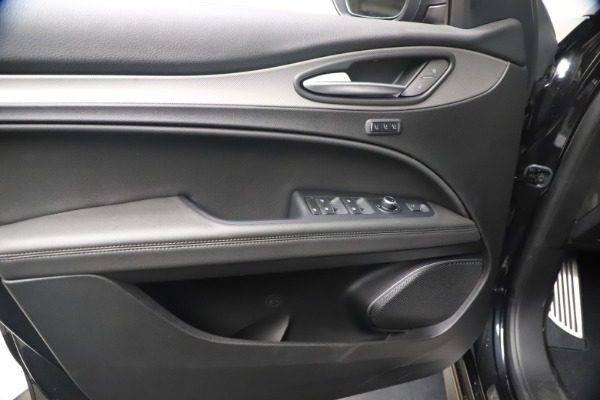 New 2021 Alfa Romeo Stelvio Ti Sport Q4 for sale $56,900 at Rolls-Royce Motor Cars Greenwich in Greenwich CT 06830 16