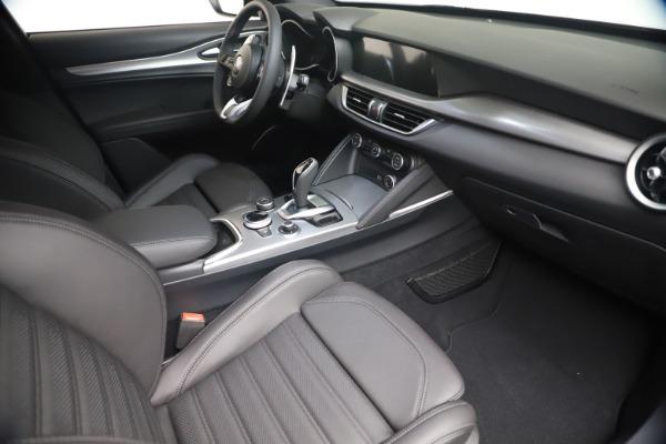 New 2021 Alfa Romeo Stelvio Ti Sport Q4 for sale $56,900 at Rolls-Royce Motor Cars Greenwich in Greenwich CT 06830 18