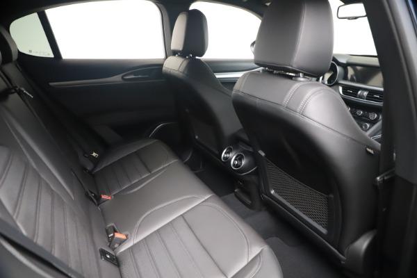 New 2021 Alfa Romeo Stelvio Ti Sport Q4 for sale $56,900 at Rolls-Royce Motor Cars Greenwich in Greenwich CT 06830 21