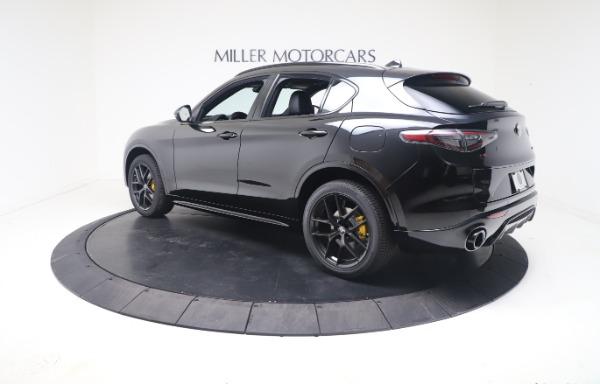 New 2021 Alfa Romeo Stelvio Ti Sport Q4 for sale $56,900 at Rolls-Royce Motor Cars Greenwich in Greenwich CT 06830 5