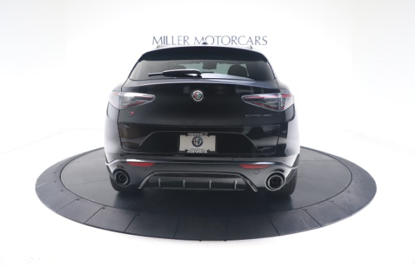 New 2021 Alfa Romeo Stelvio Ti Sport Q4 for sale $56,900 at Rolls-Royce Motor Cars Greenwich in Greenwich CT 06830 6