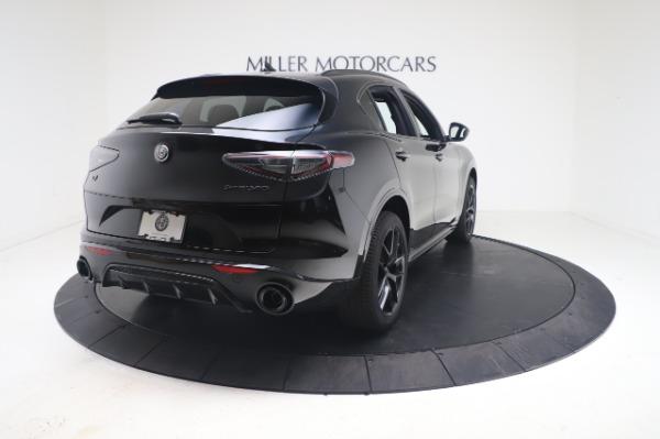 New 2021 Alfa Romeo Stelvio Ti Sport Q4 for sale $56,900 at Rolls-Royce Motor Cars Greenwich in Greenwich CT 06830 7