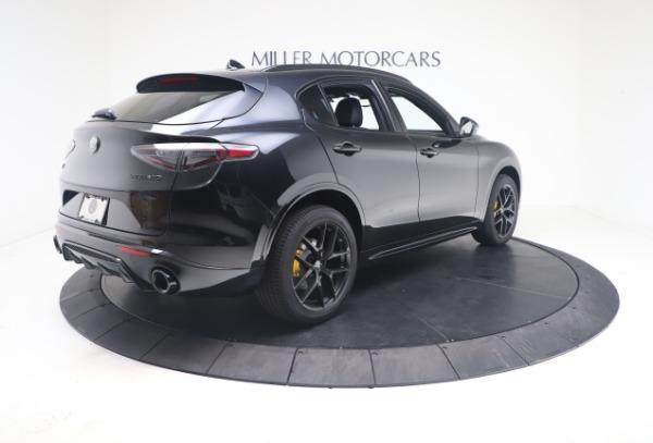 New 2021 Alfa Romeo Stelvio Ti Sport Q4 for sale $56,900 at Rolls-Royce Motor Cars Greenwich in Greenwich CT 06830 8