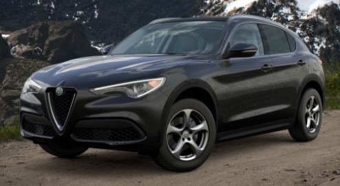 New 2021 Alfa Romeo Stelvio Q4 for sale Call for price at Rolls-Royce Motor Cars Greenwich in Greenwich CT 06830 1