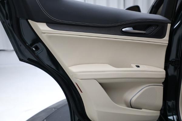 New 2021 Alfa Romeo Stelvio Ti Q4 for sale $55,205 at Rolls-Royce Motor Cars Greenwich in Greenwich CT 06830 22