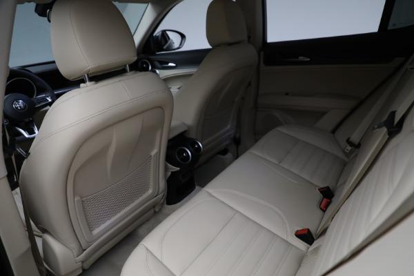 New 2021 Alfa Romeo Stelvio Ti Q4 for sale $55,205 at Rolls-Royce Motor Cars Greenwich in Greenwich CT 06830 23