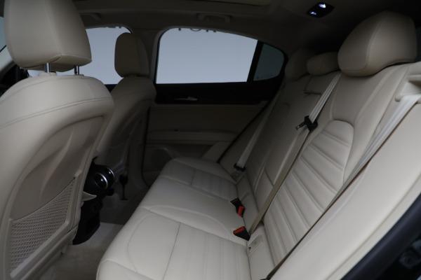 New 2021 Alfa Romeo Stelvio Ti Q4 for sale $55,205 at Rolls-Royce Motor Cars Greenwich in Greenwich CT 06830 24