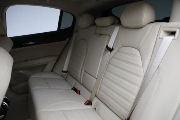 New 2021 Alfa Romeo Stelvio Ti Q4 for sale $55,205 at Rolls-Royce Motor Cars Greenwich in Greenwich CT 06830 25