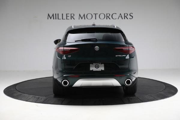 New 2021 Alfa Romeo Stelvio Ti Q4 for sale $55,205 at Rolls-Royce Motor Cars Greenwich in Greenwich CT 06830 6