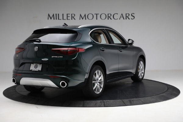 New 2021 Alfa Romeo Stelvio Ti Q4 for sale $55,205 at Rolls-Royce Motor Cars Greenwich in Greenwich CT 06830 7