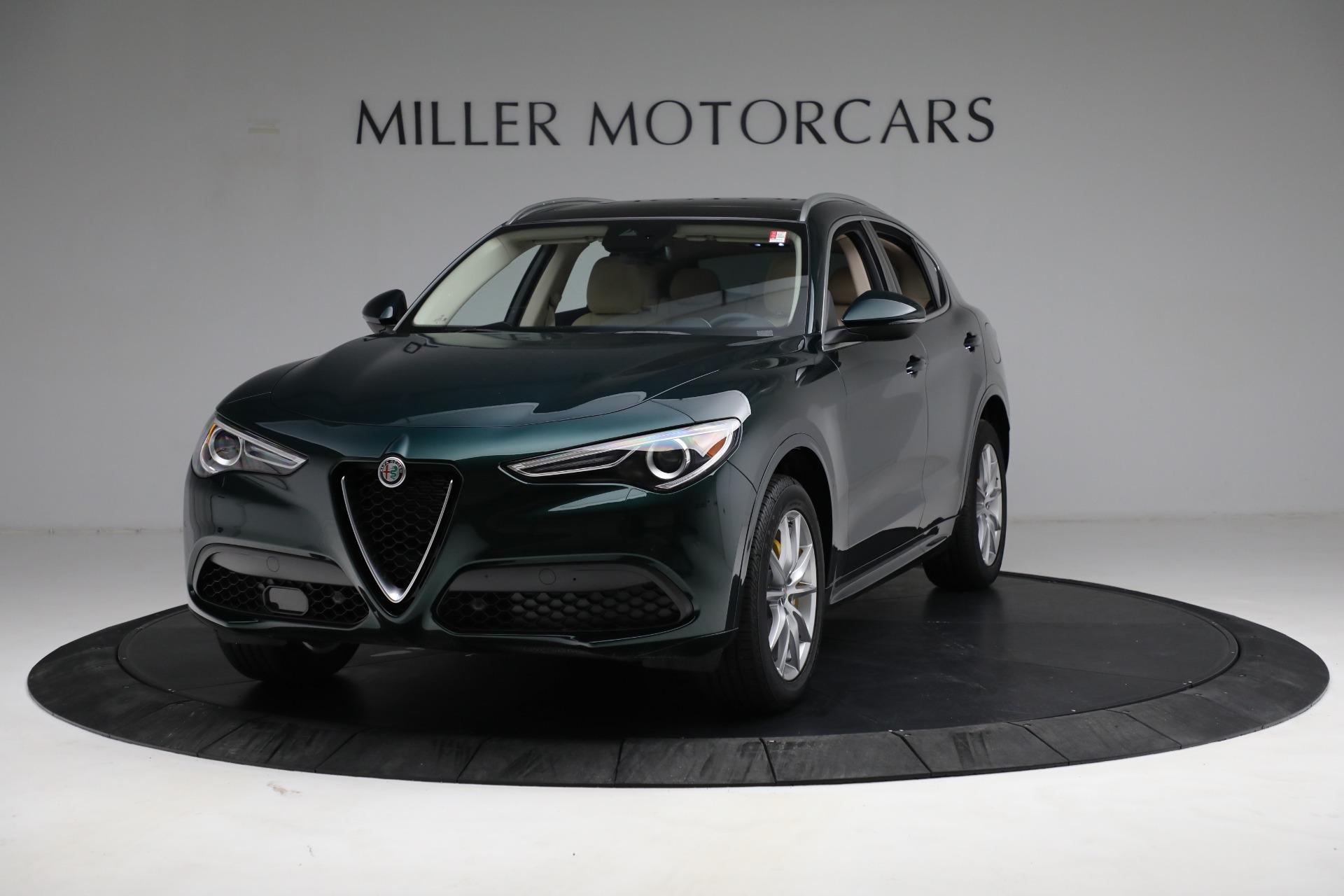 New 2021 Alfa Romeo Stelvio Ti Q4 for sale $55,205 at Rolls-Royce Motor Cars Greenwich in Greenwich CT 06830 1