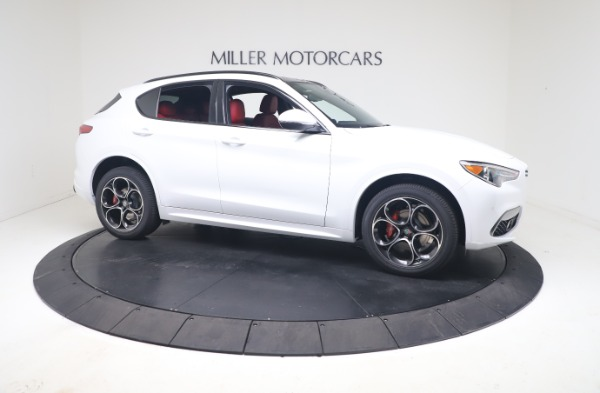 New 2021 Alfa Romeo Stelvio Ti Sport Q4 for sale Call for price at Rolls-Royce Motor Cars Greenwich in Greenwich CT 06830 10