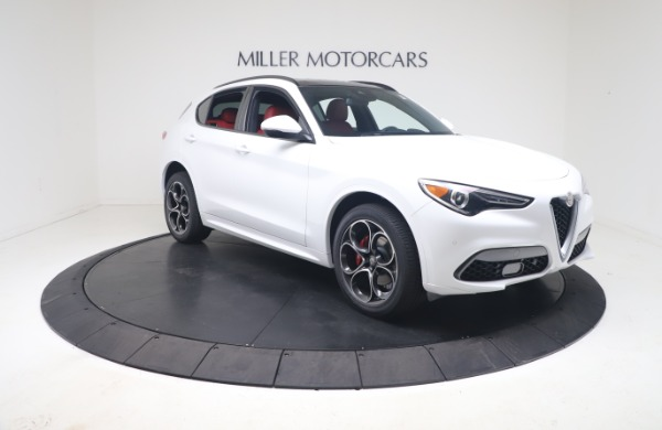 New 2021 Alfa Romeo Stelvio Ti Sport Q4 for sale Call for price at Rolls-Royce Motor Cars Greenwich in Greenwich CT 06830 11