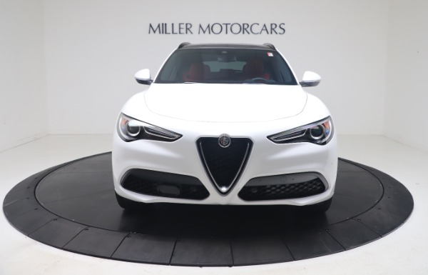 New 2021 Alfa Romeo Stelvio Ti Sport Q4 for sale Call for price at Rolls-Royce Motor Cars Greenwich in Greenwich CT 06830 12