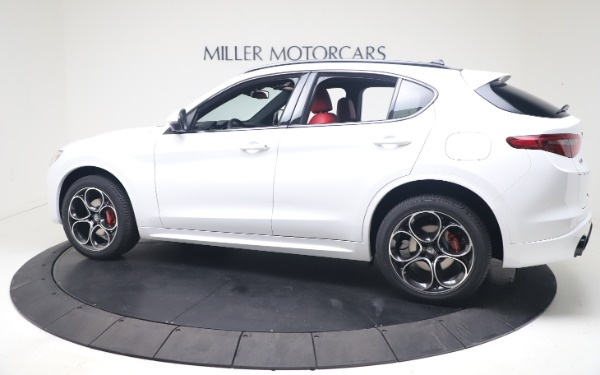 New 2021 Alfa Romeo Stelvio Ti Sport Q4 for sale Call for price at Rolls-Royce Motor Cars Greenwich in Greenwich CT 06830 4