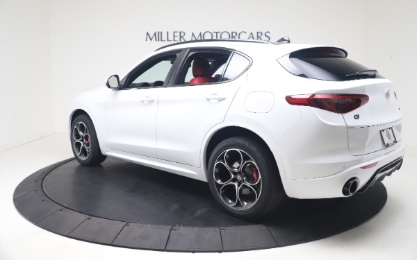 New 2021 Alfa Romeo Stelvio Ti Sport Q4 for sale Call for price at Rolls-Royce Motor Cars Greenwich in Greenwich CT 06830 5