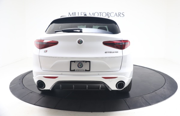 New 2021 Alfa Romeo Stelvio Ti Sport Q4 for sale Call for price at Rolls-Royce Motor Cars Greenwich in Greenwich CT 06830 6