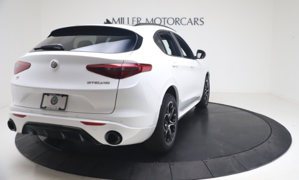 New 2021 Alfa Romeo Stelvio Ti Sport Q4 for sale Call for price at Rolls-Royce Motor Cars Greenwich in Greenwich CT 06830 7