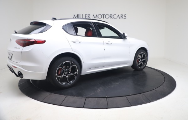 New 2021 Alfa Romeo Stelvio Ti Sport Q4 for sale Call for price at Rolls-Royce Motor Cars Greenwich in Greenwich CT 06830 8