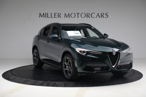 New 2021 Alfa Romeo Stelvio Ti Sport Q4 for sale $58,500 at Rolls-Royce Motor Cars Greenwich in Greenwich CT 06830 11