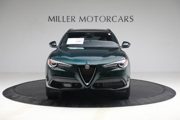 New 2021 Alfa Romeo Stelvio Ti Sport Q4 for sale $58,500 at Rolls-Royce Motor Cars Greenwich in Greenwich CT 06830 12