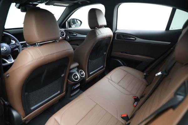 New 2021 Alfa Romeo Stelvio Ti Sport Q4 for sale $58,500 at Rolls-Royce Motor Cars Greenwich in Greenwich CT 06830 15