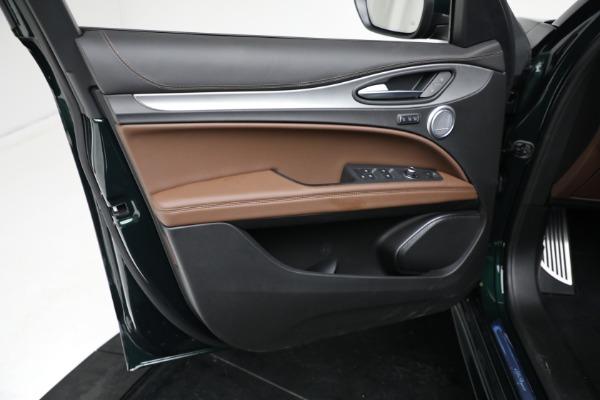 New 2021 Alfa Romeo Stelvio Ti Sport Q4 for sale $58,500 at Rolls-Royce Motor Cars Greenwich in Greenwich CT 06830 16