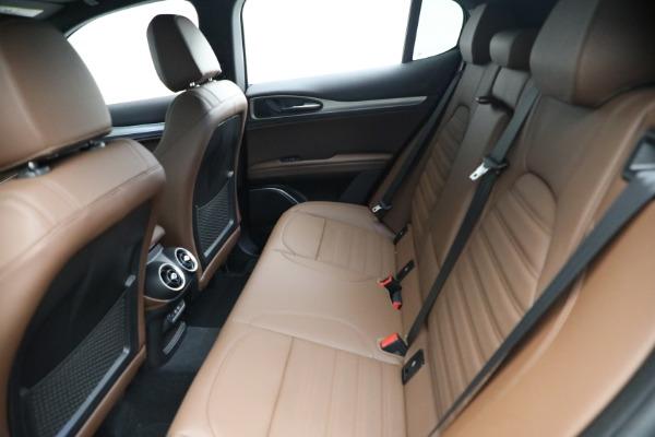 New 2021 Alfa Romeo Stelvio Ti Sport Q4 for sale $58,500 at Rolls-Royce Motor Cars Greenwich in Greenwich CT 06830 17