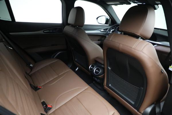 New 2021 Alfa Romeo Stelvio Ti Sport Q4 for sale $58,500 at Rolls-Royce Motor Cars Greenwich in Greenwich CT 06830 21