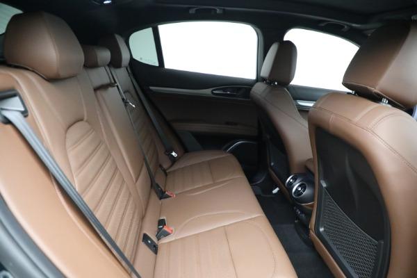 New 2021 Alfa Romeo Stelvio Ti Sport Q4 for sale $58,500 at Rolls-Royce Motor Cars Greenwich in Greenwich CT 06830 22