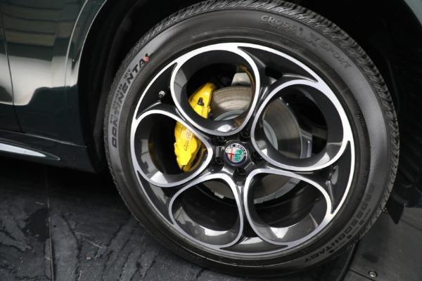 New 2021 Alfa Romeo Stelvio Ti Sport Q4 for sale $58,500 at Rolls-Royce Motor Cars Greenwich in Greenwich CT 06830 23