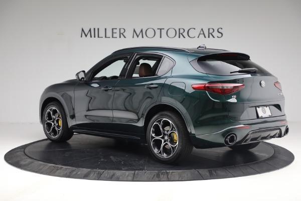 New 2021 Alfa Romeo Stelvio Ti Sport Q4 for sale $58,500 at Rolls-Royce Motor Cars Greenwich in Greenwich CT 06830 4