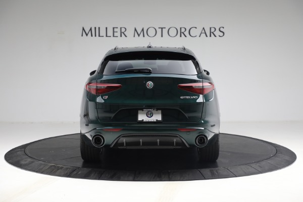 New 2021 Alfa Romeo Stelvio Ti Sport Q4 for sale $58,500 at Rolls-Royce Motor Cars Greenwich in Greenwich CT 06830 6