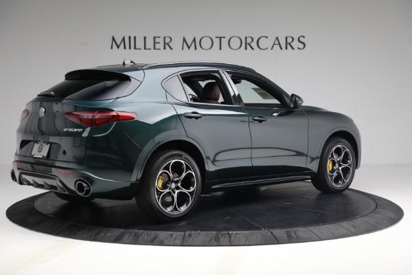 New 2021 Alfa Romeo Stelvio Ti Sport Q4 for sale $58,500 at Rolls-Royce Motor Cars Greenwich in Greenwich CT 06830 8
