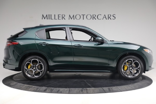 New 2021 Alfa Romeo Stelvio Ti Sport Q4 for sale $58,500 at Rolls-Royce Motor Cars Greenwich in Greenwich CT 06830 9