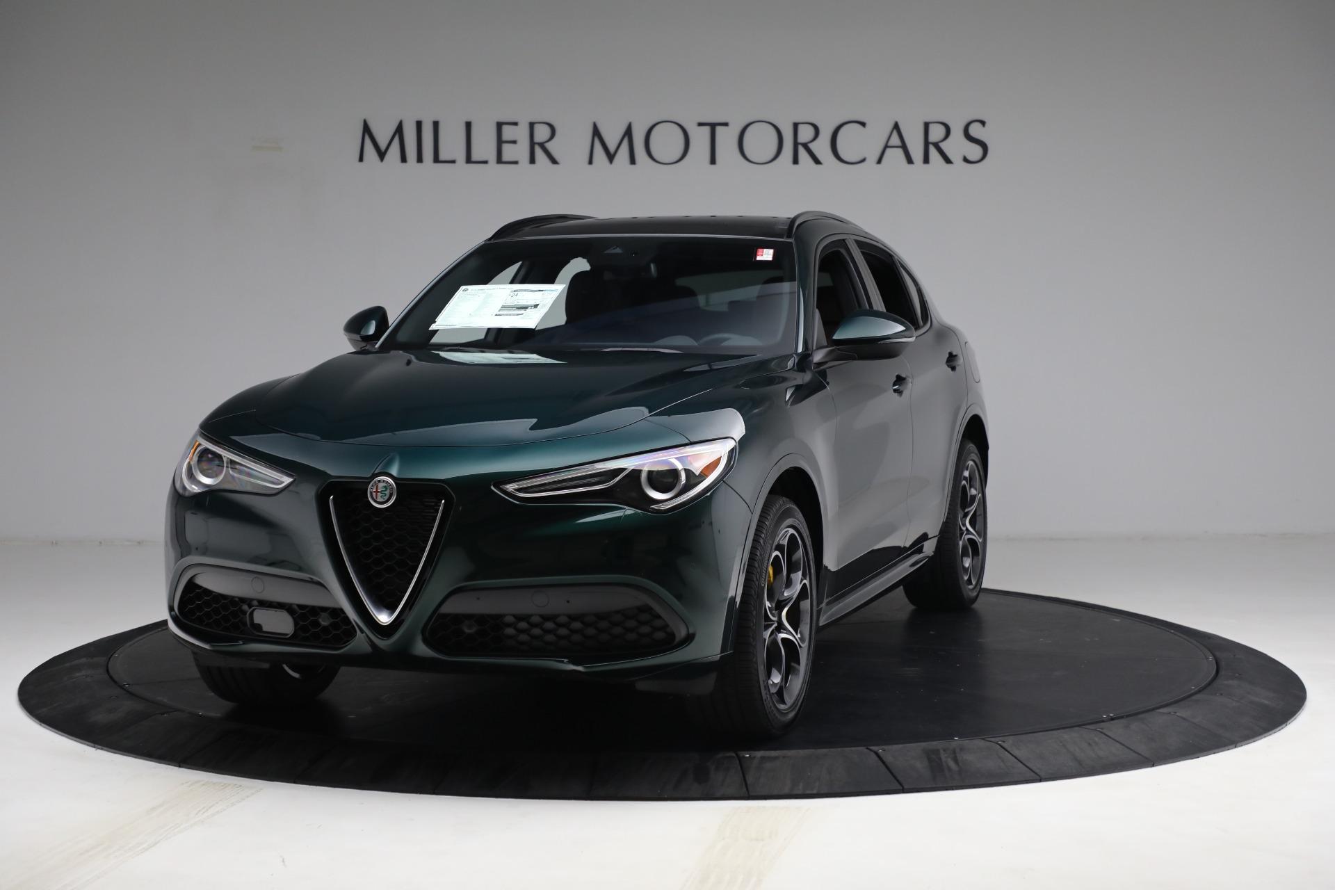 New 2021 Alfa Romeo Stelvio Ti Sport Q4 for sale $58,500 at Rolls-Royce Motor Cars Greenwich in Greenwich CT 06830 1