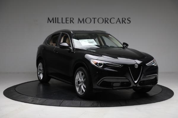 New 2021 Alfa Romeo Stelvio Ti Q4 for sale $57,400 at Rolls-Royce Motor Cars Greenwich in Greenwich CT 06830 11
