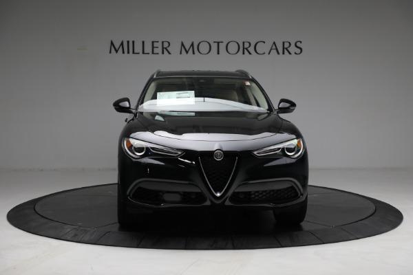 New 2021 Alfa Romeo Stelvio Ti Q4 for sale $57,400 at Rolls-Royce Motor Cars Greenwich in Greenwich CT 06830 12