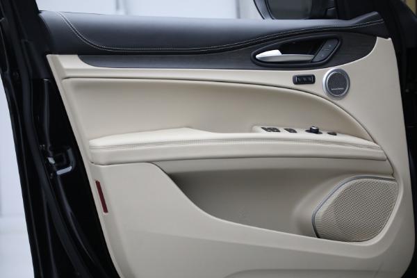 New 2021 Alfa Romeo Stelvio Ti Q4 for sale $57,400 at Rolls-Royce Motor Cars Greenwich in Greenwich CT 06830 13