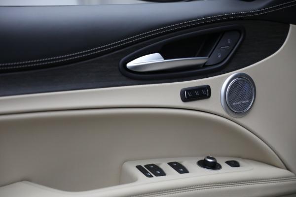 New 2021 Alfa Romeo Stelvio Ti Q4 for sale $57,400 at Rolls-Royce Motor Cars Greenwich in Greenwich CT 06830 14