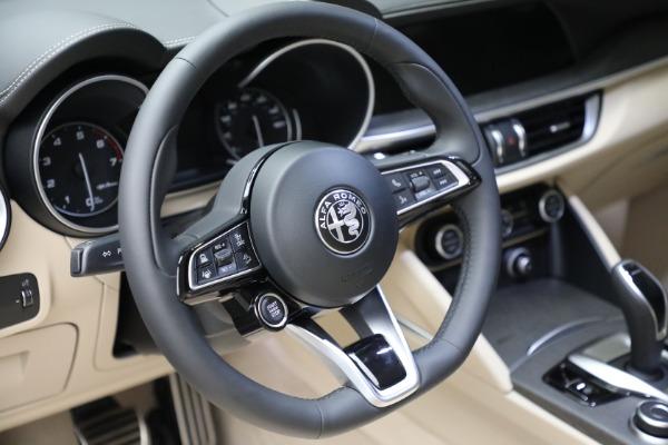 New 2021 Alfa Romeo Stelvio Ti Q4 for sale $57,400 at Rolls-Royce Motor Cars Greenwich in Greenwich CT 06830 19