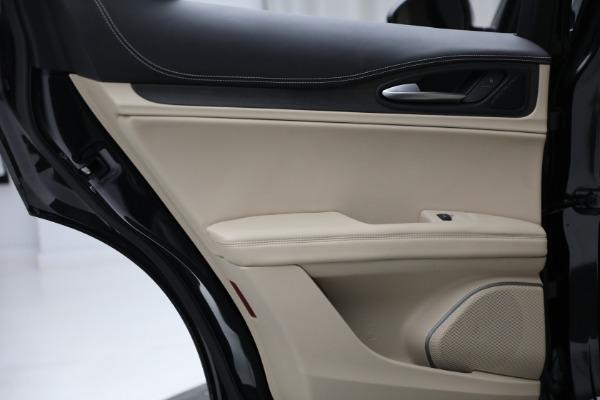 New 2021 Alfa Romeo Stelvio Ti Q4 for sale $57,400 at Rolls-Royce Motor Cars Greenwich in Greenwich CT 06830 24
