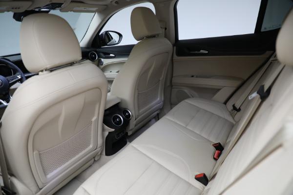 New 2021 Alfa Romeo Stelvio Ti Q4 for sale $57,400 at Rolls-Royce Motor Cars Greenwich in Greenwich CT 06830 25