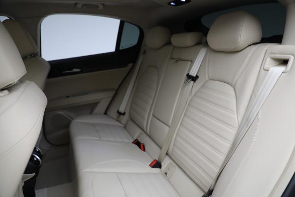 New 2021 Alfa Romeo Stelvio Ti Q4 for sale $57,400 at Rolls-Royce Motor Cars Greenwich in Greenwich CT 06830 27