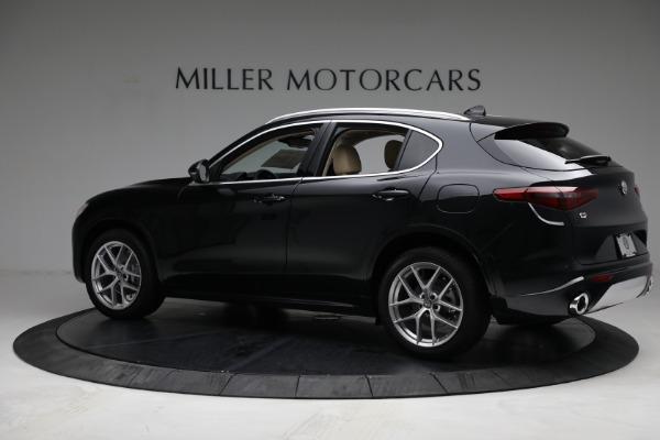 New 2021 Alfa Romeo Stelvio Ti Q4 for sale $57,400 at Rolls-Royce Motor Cars Greenwich in Greenwich CT 06830 4