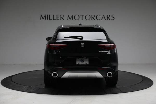 New 2021 Alfa Romeo Stelvio Ti Q4 for sale $57,400 at Rolls-Royce Motor Cars Greenwich in Greenwich CT 06830 6