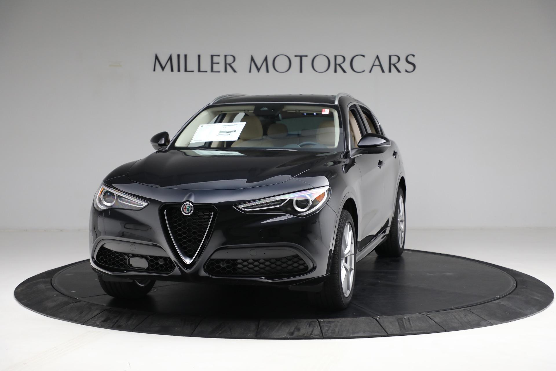 New 2021 Alfa Romeo Stelvio Ti Q4 for sale $57,400 at Rolls-Royce Motor Cars Greenwich in Greenwich CT 06830 1