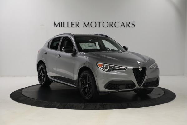 New 2021 Alfa Romeo Stelvio Ti Q4 for sale $54,400 at Rolls-Royce Motor Cars Greenwich in Greenwich CT 06830 10