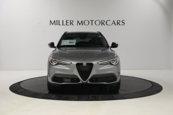 New 2021 Alfa Romeo Stelvio Ti Q4 for sale $54,400 at Rolls-Royce Motor Cars Greenwich in Greenwich CT 06830 11